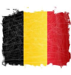 Belgium flag grunge vector