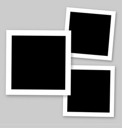 frames photo collage vector image