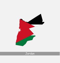 Jordan map flag vector