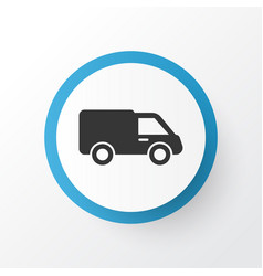 Lorry icon symbol premium quality isolated truck vector