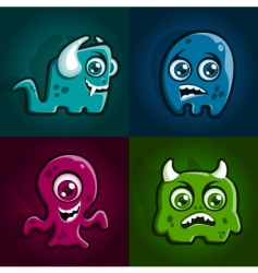 Monster characters vector