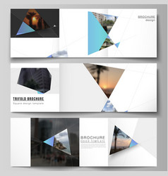 the minimal layout of square format covers vector image