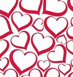 Valentine's day conceptual heart backdrop vector