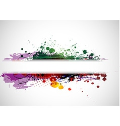 Abstract colorful banner background vector image vector image