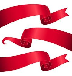 Ribbon letterhead vector