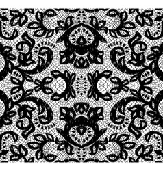 beautiful seamless lace vector image