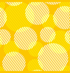 abstract geometric dots seamless pattern vector image