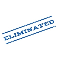 Eliminated Watermark Stamp vector image