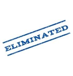 Eliminated Watermark Stamp vector
