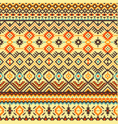 Ethnic colorful seamless pattern vector