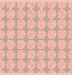 hand- drawn abstract seamless background pattern vector image