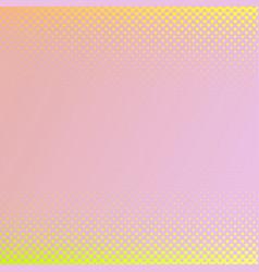 retro gradient heart pattern background design vector image