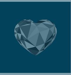 segment polygonal triangulation geometric crystal vector image
