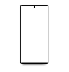 Smartphone shape a modern mobile phone vector