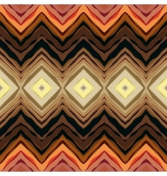 Symmetric chevrons in tribal style vector