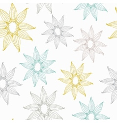seamless texture with lace vector image