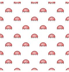 Label half price pattern cartoon style vector