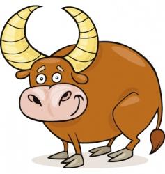 zodiac Taurus vector image vector image