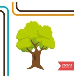nature icon design vector image