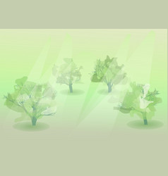 Nature summer abstract vector