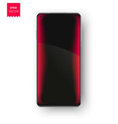 phone notification screen always on display vector image