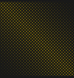 retro halftone dot pattern background design vector image