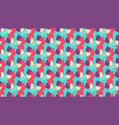 seamless pattern figs virtual background vector image