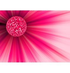 Disco Ball Party Banner vector image vector image