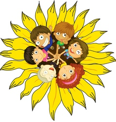 Friends vector image vector image