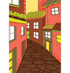 house colony vector image