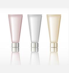 cosmetic tube packaging vector image