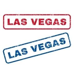 Las Vegas Rubber Stamps vector image