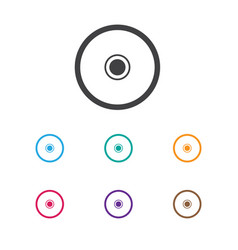 of music symbol on memory icon vector image