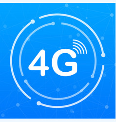 4g sim card mobile telecommunications technology vector