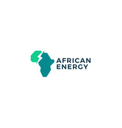 africa power energy logo icon vector image