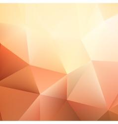 Autumn geometric shapes triangle plus EPS10 vector image vector image
