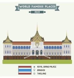 Bangkok vector