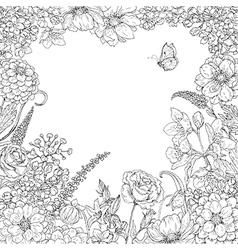 Floral Border Sketch Vector Images Over 12 000