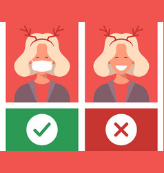 no mask entry protect and prevent from vector image
