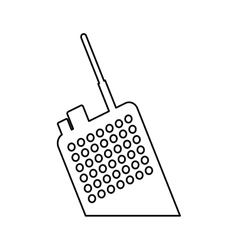 Walkie talkie radio icon image vector