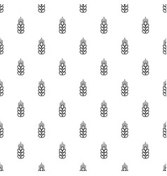 wheat pattern seamless vector image