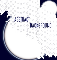 Abstract background circles vector image vector image