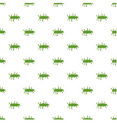 splattered mucus isolated on white background vector image vector image