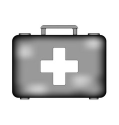first aid sign icon vector image vector image