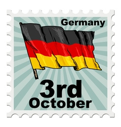 National day of germany vector