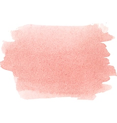 Abstract watercolor hand paint texture in pink col vector