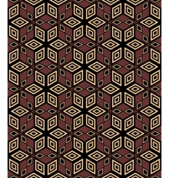 decorative geometric pattern vector image