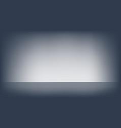 empty black studio room template used vector image