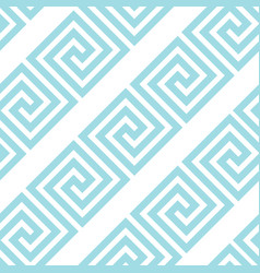 greek style meander geometric seamless pattern vector image