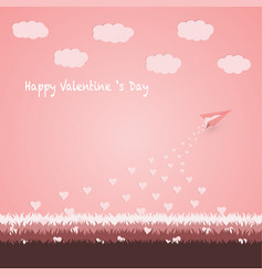 Happy valentine s day concept vector